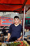Istanbul - Turkey - 05 February 2015 -- Young entrepreneurs. -- Ferdi Esiyok,17, fish kebab seller poses for a portrait-- PHOTO: Agata SKOWRONEK / EUP-IMAGES
