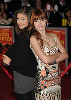 LOS ANGELES, CA - FEBRUARY 22: Zendaya Coleman and Bella Thorne attend the 'John Carter' Los Angeles premiere held at the Regal Cinemas L.A. Live on February 22, 2012 in Los Angeles, California.