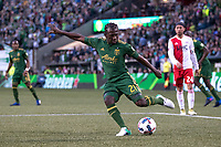 Portland, Oregon - Sunday, April 2, 2017: Portland Timbers vs New England Revolution in a match at Providence Park. Final Score: Portland Timbers 1, New England Revolution 1