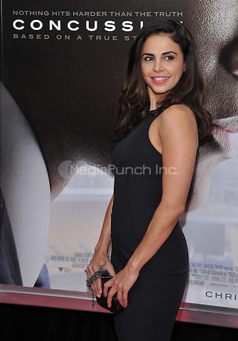 New York,NY-December 16 Azita Ghanizada    attends the 'Concussion' New York Premiere at AMC Loews Lincoln Square on December 16, 2015 in New York City. Credit: John Palmer/MediaPunch
