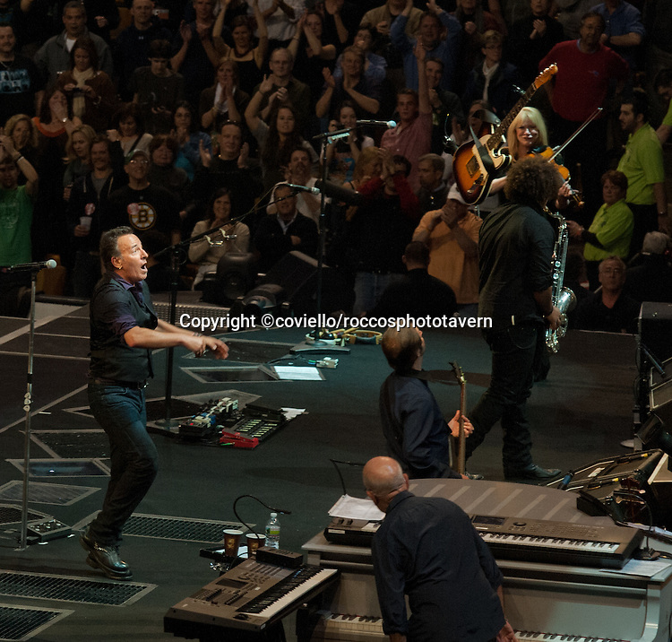 Bruce Springsteen Boston Garden 2012