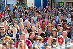 Big crowds pictured at the start of  Puck Fair on Monday