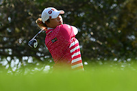 PATTAYA, THAILAND - FEBRUARY 22: Ariya Jutanugarn of Thailand on the 3rd tee during the second round of the Honda LPGA Thailand 2019 at Siam Country Club Pattaya (Old Course), Pattaya, Thailand on February 22, 2019.<br /> .<br /> .<br /> .<br /> (Photo by: Naratip Golf Srisupab/SEALs Sports Images)<br /> .<br /> Any image use must include a mandatory credit line adjacent to the content which should read: Naratip Golf Srisupab/SEALs Sports Images