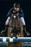 Joe Clee of United Kingdom rides Vedet de Muze E T in action during the Longines Grand Prix as part of the Longines Hong Kong Masters on 15 February 2015, at the Asia World Expo, outskirts Hong Kong, China. Photo by Victor Fraile / Power Sport Images