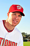 28 February 2010: Washington Nationals infielder Pete Orr poses for his Spring Training photo at Space Coast Stadium in Viera, Florida. Mandatory Credit: Ed Wolfstein Photo