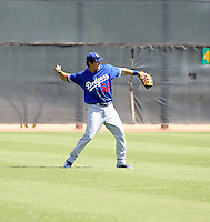 Preston Mattingly / Los Angeles Dodgers 2008 Instructional League..Photo by:  Bill Mitchell/Four Seam Images