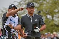 Xander Schauffele (USA) looks over his tee shot on 7 during day 3 of the World Golf Championships, Dell Match Play, Austin Country Club, Austin, Texas. 3/23/2018.<br /> Picture: Golffile | Ken Murray<br /> <br /> <br /> All photo usage must carry mandatory copyright credit (&copy; Golffile | Ken Murray)