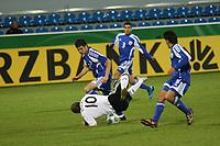 Toni Kroos (D) wird gefoult<br /> U21 Deutschland vs. Israel *** Local Caption *** Foto ist honorarpflichtig! zzgl. gesetzl. MwSt. Auf Anfrage in hoeherer Qualitaet/Aufloesung. Belegexemplar an: Marc Schueler, Alte Weinstrasse 1, 61352 Bad Homburg, Tel. +49 (0) 151 11 65 49 88, www.gameday-mediaservices.de. Email: marc.schueler@gameday-mediaservices.de, Bankverbindung: Volksbank Bergstrasse, Kto.: 151297, BLZ: 50960101