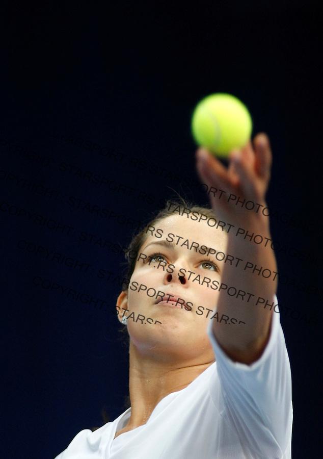 Tenis, Federation Cup.Serbia Vs. Romania.Ana Ivanovic Vs. Monica Niculescu.Budapest, 02.01.2008..foto: Srdjan Stevanovic