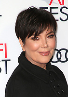 12 November 2017 - Hollywood, California - Kris Jenner. &quot;The Disaster Artist&quot; AFI FEST 2017 Screening held at TCL Chinese Theatre. <br /> CAP/ADM/FS<br /> &copy;FS/ADM/Capital Pictures
