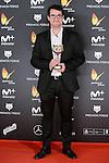 Fernando Velazquez win the award at Feroz Awards 2017 in Madrid, Spain. January 23, 2017. (ALTERPHOTOS/BorjaB.Hojas)