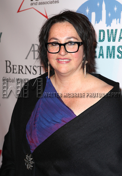 Annette Tannerr attending the Broadway Dreams Foundation's 'Champagne & Caroling Gala' at Celsius at Bryant Park, New York on December 10, 2012