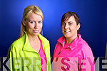 Kelly Robbins and Lorraine Lynch from Tralee who are training for the Kerry's Eye Tralee International Marathon.