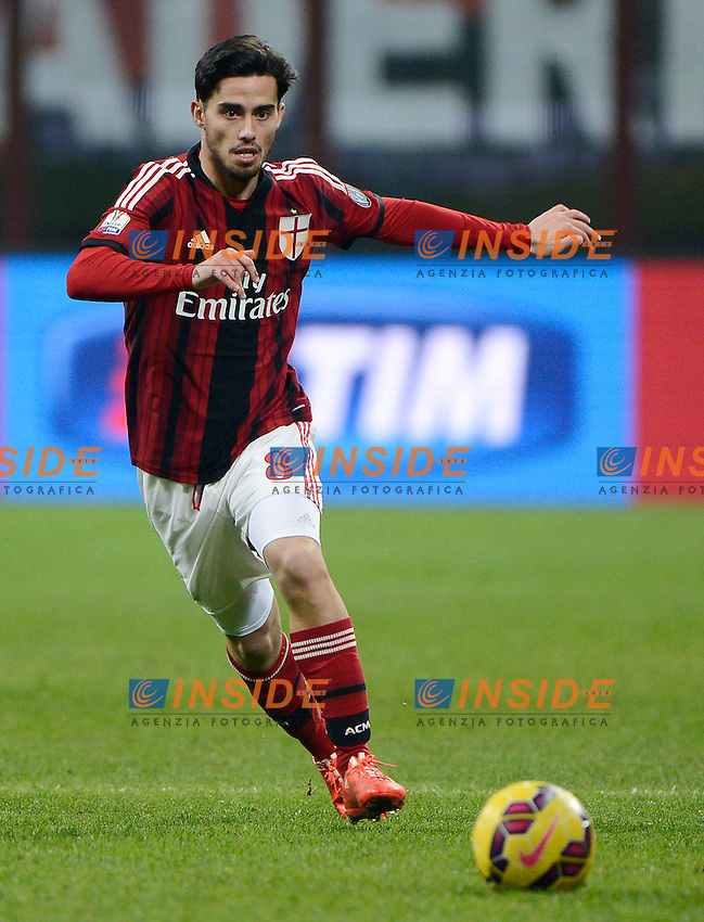 Suso Milan<br /> Milano 27-01-2015 Stadio Giuseppe Meazza - Football Calcio Coppa Italia Milan - Lazio. Foto Giuseppe Celeste / Insidefoto