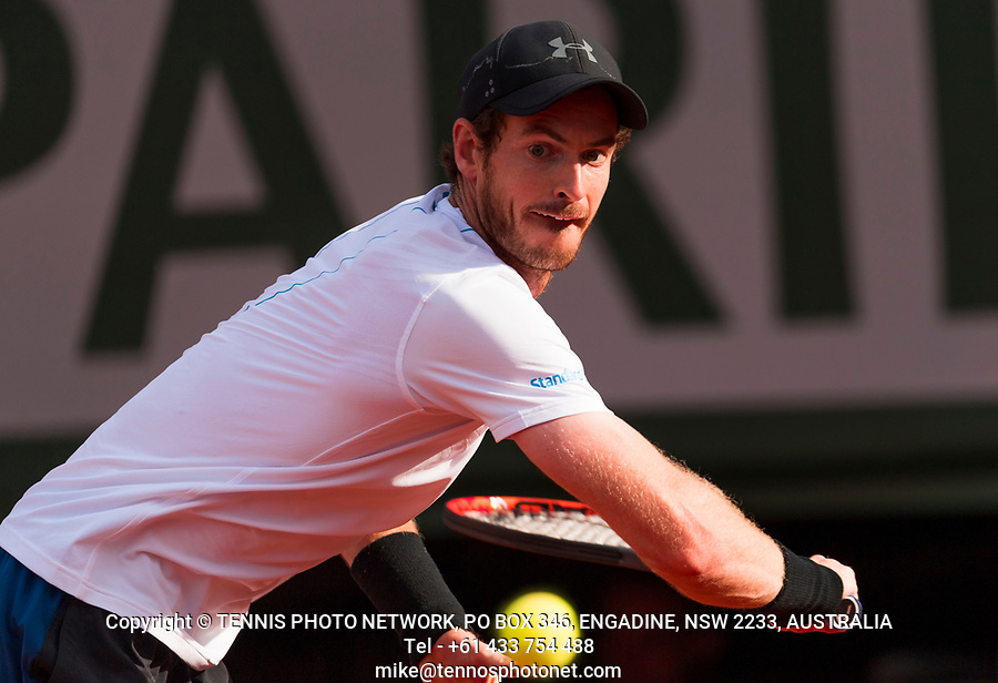 ANDY MURRAY (GBR)<br /> <br /> TENNIS - FRENCH OPEN - ROLAND GARROS - ATP - WTA - ITF - GRAND SLAM - CHAMPIONSHIPS - PARIS - FRANCE - 2017  <br /> <br /> <br /> <br /> &copy; TENNIS PHOTO NETWORK