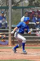 Logan Watkins - Chicago Cubs - 2009 extended spring training.Photo by:  Bill Mitchell/Four Seam Images