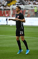 Erik Durm (Eintracht Frankfurt) - 01.08.2019: Eintracht Frankfurt vs. FC Flora Tallinn, UEFA Europa League, Qualifikation 2. Runde, Commerzbank Arena<br /> DISCLAIMER: DFL regulations prohibit any use of photographs as image sequences and/or quasi-video.