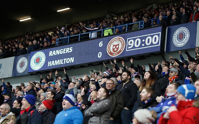 Rangers win 6-0