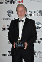 BEVERLY HILLS, CA. October 14, 2016: Ridley Scott at the 30th Annual American Cinematheque Award gala honoring Ridley Scott &amp; Sue Kroll at The Beverly Hilton Hotel, Beverly Hills.<br /> Picture: Paul Smith/Featureflash/SilverHub 0208 004 5359/ 07711 972644 Editors@silverhubmedia.com