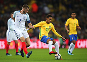 2017 International Football Friendly England v Brazil Nov 14th