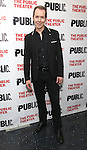 """Paul Niebanck during the Off-Broadway Opening Night performance party for """"Plenty""""  at the Public Theatre on October 20, 2016 in New York City."""