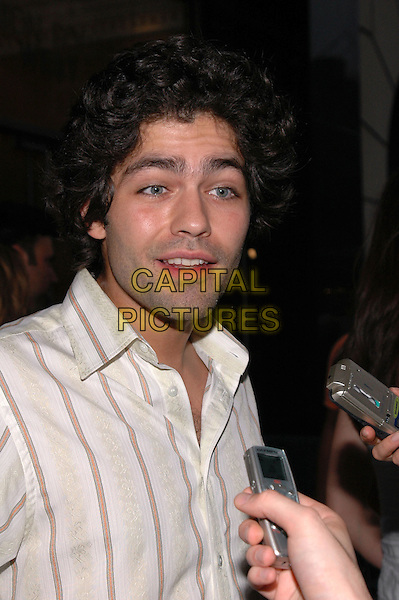 "ADRIAN GRENIER.American Eagle Outfitters' ""Live Your Life Contest"" winners at the Union Square flagship store in Manhattan, New York, New York..July 27th, 2005  .Photo Credit: Patti Ouderkirk/AdMedia.headshot portrait.www.capitalpictures.com.sales@capitalpictures.com.© Capital Pictures."