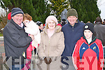 Pat, Orna, Norma Doherty, Brendan O'Brien and Oisin Doherty at the Headford Ambush commemoration on Sunday..