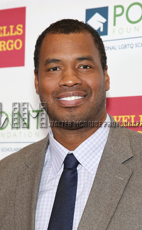 Jason Collins attends the Point Foundation hosts Annual Point Honors New York Gala Celebrating The Accomplishments Of LGBTQ Students at The Plaza Hotel on April 9, 2018 in New York City.