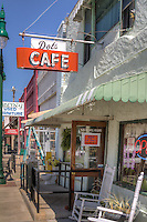 Dot's Cafe in downtown Claremore Okalhoma on Route 66.