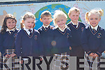 The newest students in Scoil Mhuire, Knocknagoshel on Monday.   Copyright Kerry's Eye 2008