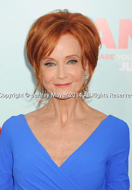 HOLLYWOOD, CA- JUNE 30: Actress Swoosie Kurtz arrives at the 'Tammy' - Los Angeles Premiere at TCL Chinese Theatre on June 30, 2014 in Hollywood, California.