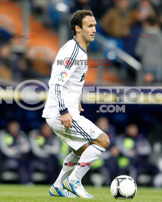 Real Madrid's Ricardo Carvalho during Spanish King's Cup match.November 27,2012. (ALTERPHOTOS/Acero) /NortePhotoMx