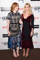 LONDON, ENGLAND. October 6, 2016: Bryce Dallas Howard &amp; Alice Eve at the London Film Festival premiere for &quot;Black Mirror&quot; at the Bluebird Cafe, Chelsea, London.<br /> Picture: Steve Vas/Featureflash/SilverHub 0208 004 5359/ 07711 972644 Editors@silverhubmedia.com