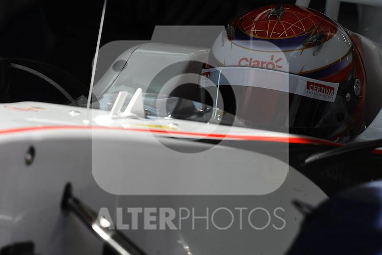 13.02.2011, Circuit de Catalunya, Barcelona, ESP, Formel 1 Test 3 2011,  im Bild Kamui Kobayashi (JPN), Sauber F1 Team Foto © nph / Dieter Mathis