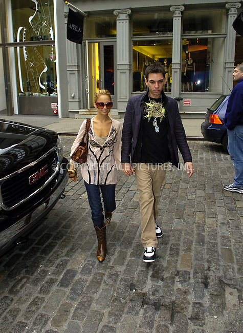 WWW.ACEPIXS.COM ** ** ** ....NEW YORK, MAY 24, 2005....Nicole Richie and Adam Goldstein (DJ AM) stroll to a luncheon with Ashley Olsen at Mercer Kitchen. Shortly after the threesome go shopping at Jill Stuart in SoHo. With purchases in hand, the next stop is trendy Kirna Zabete. Ashley Olsen does her shopping downstairs. Nicole Richie on the other hand does a bit of kissy with boyfriend Adam Goldstein and her obligatory Nicole Richie fashion show. After trying on a few things, it's time for Ashley Olsen to take leave of their shopping trip.....Please byline: IAN WINGFIELD - ACE PICTURES.. *** ***  ..Ace Pictures, Inc:  ..Craig Ashby (212) 243-8787..e-mail: picturedesk@acepixs.com..web: http://www.acepixs.com