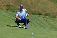 Paul Dunne (IRL) on the 14th during Round 3 of the HNA Open De France at Le Golf National in Saint-Quentin-En-Yvelines, Paris, France on Saturday 30th June 2018.<br /> Picture:  Thos Caffrey | Golffile