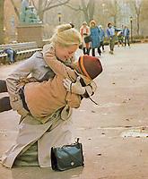 Kramer vs. Kramer (1979) <br /> Meryl Streep &amp; Justin Henry<br /> *Filmstill - Editorial Use Only*<br /> CAP/MFS<br /> Image supplied by Capital Pictures