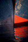 Seattle, Container Ship, Port of Seattle, Elliott Bay, Puget Sound, Ships bow,