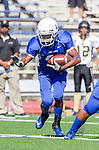Culver City, CA 09/12/13 - unidentified Culver City player(s) in action during the Peninsula vs Culver City Junior Varsity game at Culver City High School.