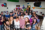 Jack Landers front from Cahersiveen celebrated his 18th birthday with family and friends in the Anchor Bar Cahersiveen on Saturday night.