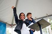 Alicia Keys Obama Rally | 10/26/2012