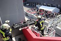 30.04.2017: Übergabe der neuen Drehleiter an die Feuerwehr Groß-Gerau