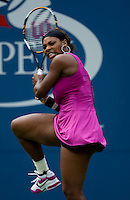 Serena Williams (USA)(3) against Alexa Glatch USA  in the first round. Williams beat Glatch 6-4 6-1..International Tennis - US Open - Day 1 Mon 31 Aug 2009 - USTA Billie Jean King National Tennis Center - Flushing - New York - USA ..Frey,  Advantage Media Network, Barry House, 20-22 Worple Road, London, SW19 4DH