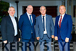 Mick O'Connor, John Brassill, Councillor John Lucid and Michael McGrath, pictured at the Fianna Fáil Breakfast meeting fundraiser at Ballygarry House Hotel & Spa, Tralee, on Friday morning last.