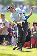 Bethesda, MD - June 25, 2016:  Jim Furyk (USA) in action during Round 3 of professional play at the Quicken Loans National Tournament at the Congressional Country Club in Bethesda, MD, June 25, 2016.  (Photo by Elliott Brown/Media Images International)