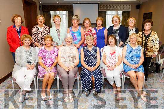 The Ballybeggan Lady Golf Society at their wards evening in the Rose Hotel on Saturday.<br /> Seated l to r: Mary O'Sullivan, Eleanor Dodd, Olive Horgan (Captain), Kathleen Houlihan (President), Carmel Daly and Phylis Mason.<br /> Back l to r: Nollaig Kelly, Mary Whelan, Mary Quillinan, Kathleen Burrows, Helen Crowley, Mary McElligott, Geraldine O'Connor, Mary O'Sullivan and Maura Bailey.