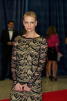 WASHINGTON, DC - APRIL 28: Charlize Theron attends the 2012 White House Correspondents Dinner at the Washington Hilton Hotel in Washington, D.C  on April 28, 2012  ( Photo by Chaz Niell/Media Punch Inc.)