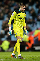 Aston Villa's Sam Johnstone vents his frustration<br /> <br /> Photographer Andrew Kearns/CameraSport<br /> <br /> The EFL Sky Bet Championship -  Aston Villa v Queens Park Rangers - Tuesday 13th March 2018 - Villa Park - Birmingham<br /> <br /> World Copyright &copy; 2018 CameraSport. All rights reserved. 43 Linden Ave. Countesthorpe. Leicester. England. LE8 5PG - Tel: +44 (0) 116 277 4147 - admin@camerasport.com - www.camerasport.com