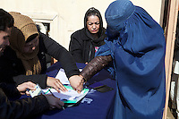 UNHCR registration of IDPs in order to receive food and NFI