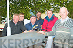 VINTAGE TRACTORS: Enjoying the vintage tractors at the Ardfert Summer Festival on Sunday l-r: Noel, Mark and Eddie Lenihan, John Kerins, Maurice Lenihan and Denis Lawlor.